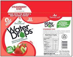 amazon sweetleaf water drops strawberry kiwi 2 1 ounce grocery gourmet food