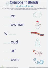Consonant Blends Worksheets for Grade 1 – webmart.me
