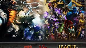 dota 2 vs lol when heroes meet champions teaser gamersbook