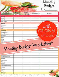 13 Budget Tracking Templates Free Word Excel Pdf Documents