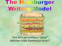ppt the hamburger writing model powerpoint presentation id  the hamburger