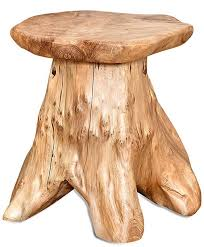 25 gorgeous tree stump tables insteading