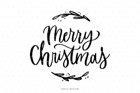 Free christmas vector download in ai, svg, eps and cdr. Free Merry Christmas Svg Hand Lettered Quote Crafter File