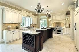 a kitchen island with wine rack and white granite pair of classic pendant chandelier storage