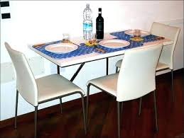 full size of wall mount kitchen tables mounted fold down attached dining table designs folding diy