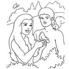 Small Picture Top 25 FreePrintable Adam And Eve Coloring Pages Online