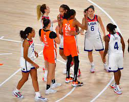 Team USA in 2021 WNBA All-Star Game
