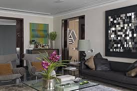 Living Room Modern Apartment Ideas Black Eiforces - Contemporary apartment living room
