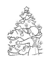 Kerstavond In Duitsland Kleurplaat Gratis Kleurplaten Printen