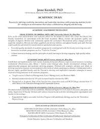 Academic Resume Examples 8 Template 10 Chronological Sample ...