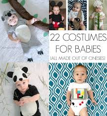 homemade costumes for babies