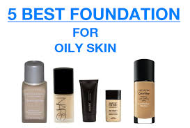 foundation makeup for oily skin