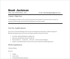 Job Objective For Resume Beauteous The Objective Of A Resume Objective Resumes Examples Sales Objective