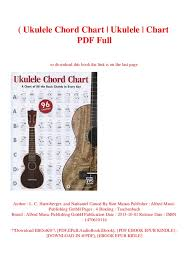 Soprano Ukulele Chord Chart Pdf B O O K Ukulele Chord Chart Ukulele Chart Pdf Full