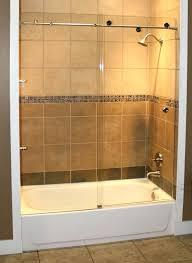 bathtub door installation shower enclosures sterling bathtub door installation