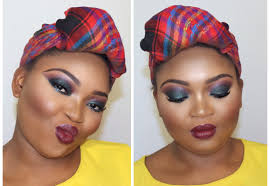 do your makeup flawlessly step 4 glam fall autumn makeup look bold lips by misty a