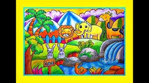 Tranh tập tô màu cho bé hình các con vật ngộ nghĩnh - Kids Art&Music Saigon