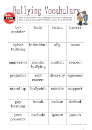 Worksheets On Bullying Free Worksheets Library | Download and ...
