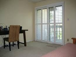 creative sliding plantation shutters sliding plantation sliding plantation shutters for sliding glass door