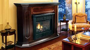 propane gas fireplaces vs vented ventless fireplace oakwood 24 in vent free logs with thermostatic control log set 1 front ventless propane gas fireplace