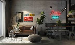 Types Of Interior Design Four Types Of Industrial Style Decor