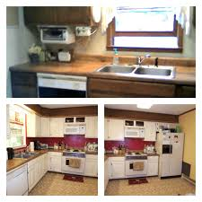 updating our 1970s kitchen before after kitchen 2