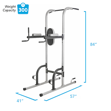 gold s gym xr 10 9 power tower with push up pull up and dip stations walmart