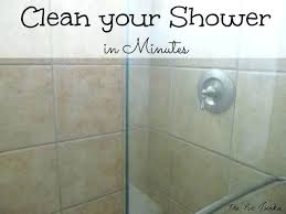 dawn and vinegar shower cleaner cleaning shower doors how to clean glass shower doors the easy
