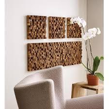 square takara wall art 3 thumbnail on tiki wood wall art with square takara wall art teak wood 3d art uncommongoods