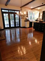 diy no sanding no mess non toxic hard wood floor refinishing amazing