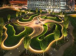 Earth Works Landscape Design Adjacent To The National Geospatial Intelligence Agency In