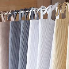 low coyuchi mini stripe cotton and linen shower ivory fabric shower curtain liner