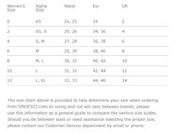 Mother Denim Size Chart Ofertasvuelo