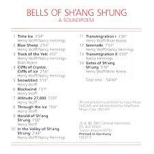 43 Henry Henry Wolff Nancy Hennings Tibetan Bells Iv Bells Of Shang