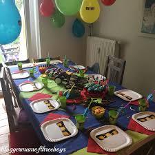 Lego Ninjago Party - Der 8. Geburtstag - BloggerMumOf3Boys Mamablog | Lego  geburtstagsparty, Ninjago geburtstag basteln, Ninja geburtstag