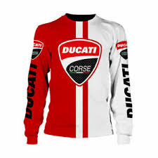 Ducati Size Chart Details About Ducati Superbike Mens 3d Shirt Long Sleeve Us Size Top Gift