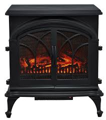 add supplemental heat in a unique way with the muskoka electric stove dual operable doors provide a realistic look led wood burning flame effect operates