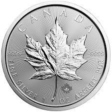 Canadian Silver Maple Leaf 1 Oz