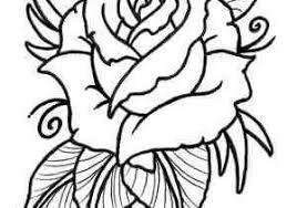 Kleurplaten Bloemen Rozen Concept Natuur Kleurplaten 35