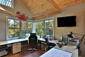 home office studio. Office, Example Of A Transitional Home Studio Design In Other With Beige Walls Medium Tone Office S