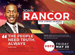 Political Flyer Template Under Fontanacountryinn Com