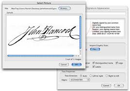 how to create online signature sign electronic documents with your own handwritten signature