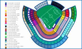 Los Angeles Dodgers Stadium Seating Chart Dodgers Stadium