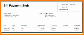 Paystub Excel Template 1099 Pay Stub Template Excel Best Of Payroll Check Stub Template