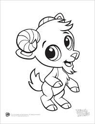 Small Picture cute cartoon animals coloring pages for kids and for adults