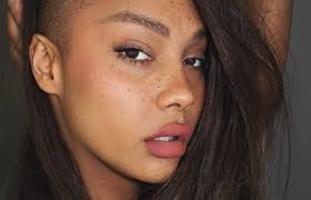 darken eyebrows without makeup best natural no makeup look faux freckles eyebrows