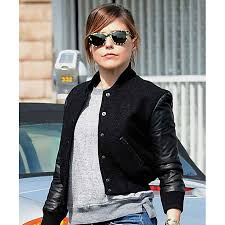 sophia bush chicago pd leather jacket