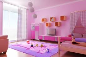 Modern Pink Bedroom Awesome Nice Interior Design Wall Painting Interior Design Wall