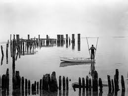 Oyster Tonger, Tilghman Island, Maryland' Photographic Print - A. Aubrey  Bodine | Art.com