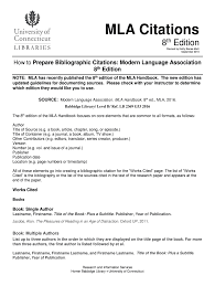 Mla Citations Fill Online Printable Fillable Blank
